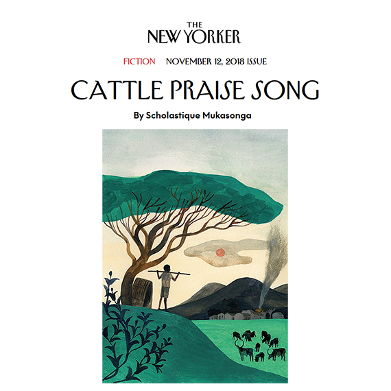 "The author Scholastique Mukasonga discusses ""Cattle Praise Song,"" her short story from this week's issue of the magazine The New Yorker"