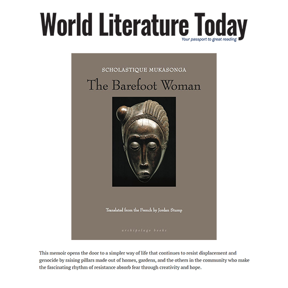 World Literature Today review : The Barefoot Woman by Scholastique Mukasonga