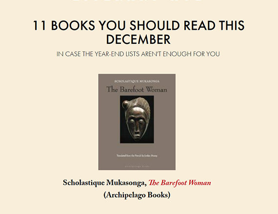 Literary Hub : 11 books to read this December - Scholastique Mukasonga - Rwanda Scholastique Mukasonga