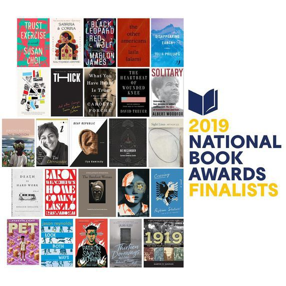 National Book Awards 2019 finalists