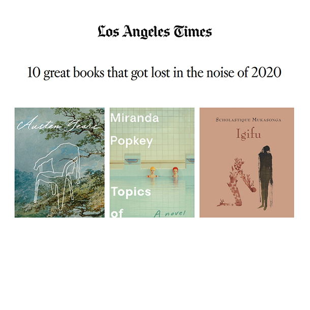 Los Angeles Times selects igifu among 10 great books 2020