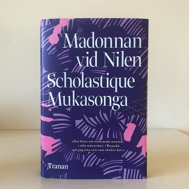 "New Translation Book : ""Madonnan vid Nilen"" by Scholastique Mukasonga - Rwanda sweden edition"