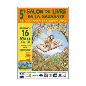 5e Salon du livre de La Saussaye Dimanche 16 mars
