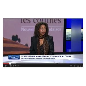 """Video – TV5 Monde :  """"Le Rwanda veut la vérité sur le génocide"""" – Scholastique Mukasonga"""