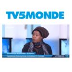 scholastique Mukasonga est l'invitée du journal le 64' sur TV5 Monde - Rwanda