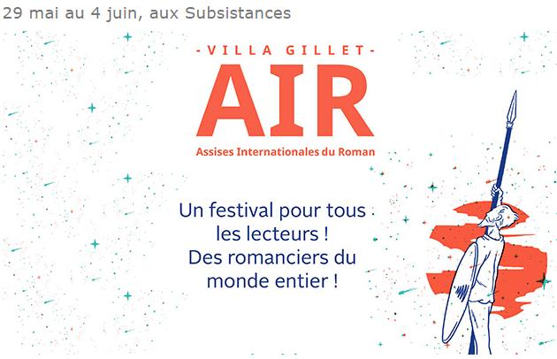 Les Assises Internationales du roman à Lyon du 29 mai au 4 juin