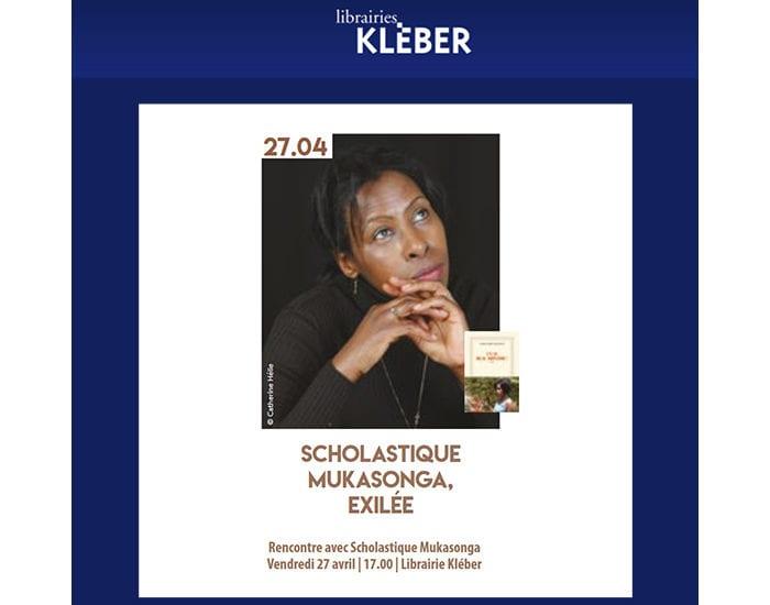 Rencontre  à la librairie Kléber
