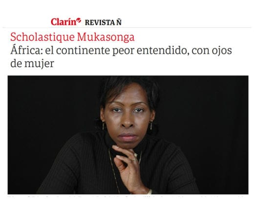 clarin : La mujer descalza - Scholastique Mukasonga