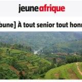Jeune Afrique : À tout senior tout honneur - rwanda