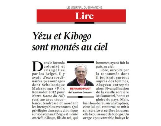 """La chronique de Bernard Pivot, """"Yézu et Kibogo sont montés au ciel"""""""