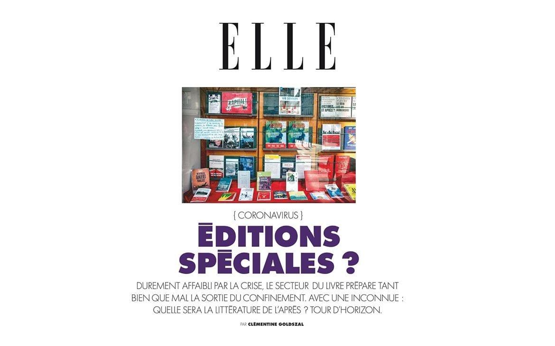 Magazine Elle : Littérature Covid-19