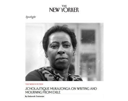 """Vous pouvez lire ma discussion avec Deborah Treisman à propos de ma nouvelle """"Le Deuil"""" paru dans le magazine The New Yorker ."""