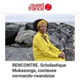Ouest-France Rencontre Scholastique Mukasonga conteuse normando-rwandaise
