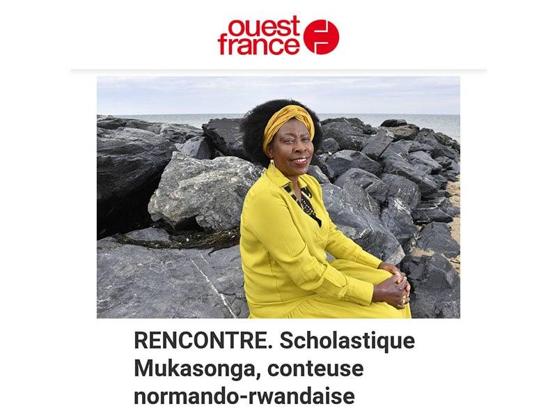 Ouest-France Rencontre : conteuse normando-rwandaise