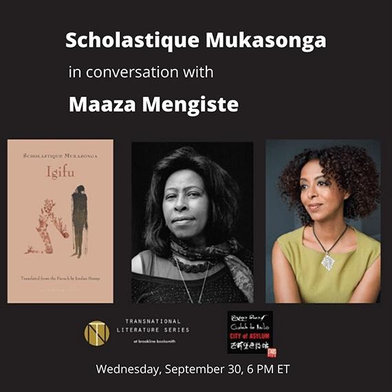 Scholastique Mukasonga in conversation in Maaza Mengiste
