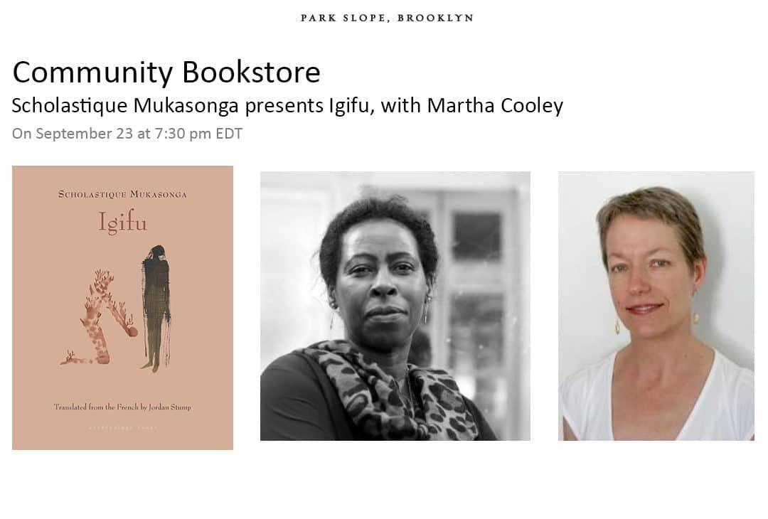 Community Bookstore : présentaTion de l'Igifu avec  Martha Cooley