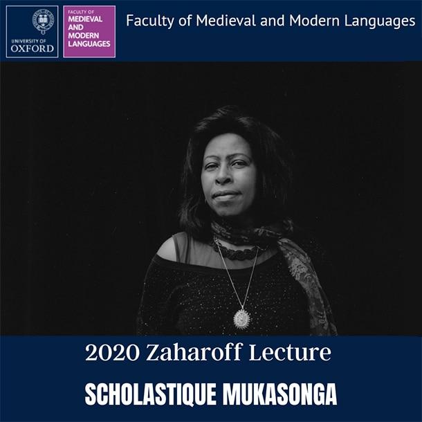 2020 Zaharoff Lecture à l' Université d' Oxford