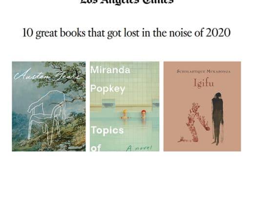 Los Angeles Times sélectionnE l'igifu parmi les 10 great Book 2020 - Rwanda Scholastique Mukasonga génocide 1994