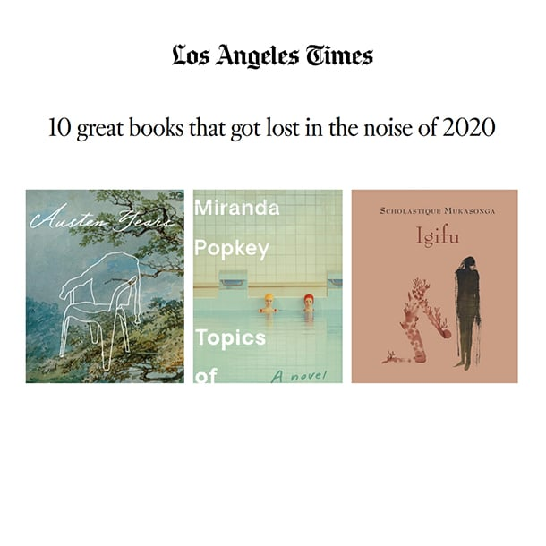 Los Angeles Times sélectionnE l'igifu parmi les 10 great Book 2020