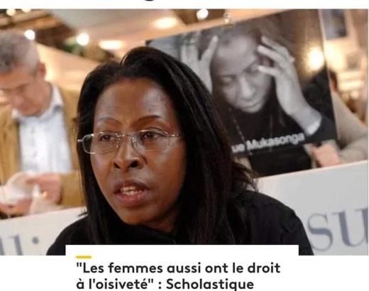 """France 3 Normandie : """"Les femmes aussi ont le droit à l'oisiveté"""" Scholastique Mukasonga Rwanda écrivaine"""