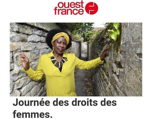 À l'occasion de la Journée internationale des droits des femmes, Scholastique Mukasonga a répondu aux questions de Raphaël FRESNAIS pour le quotidien Ouest-France.