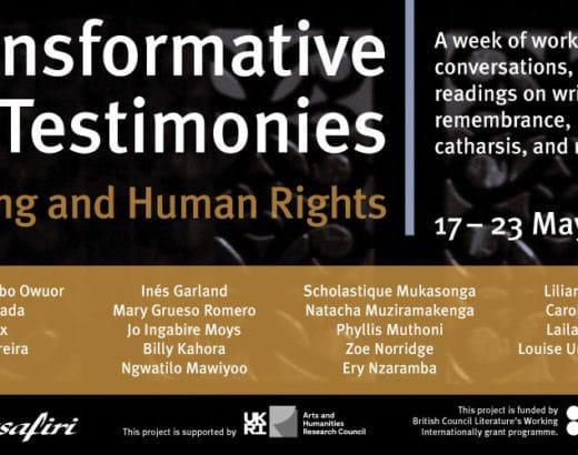 Festival Wasafiri _ writing and Human Rights