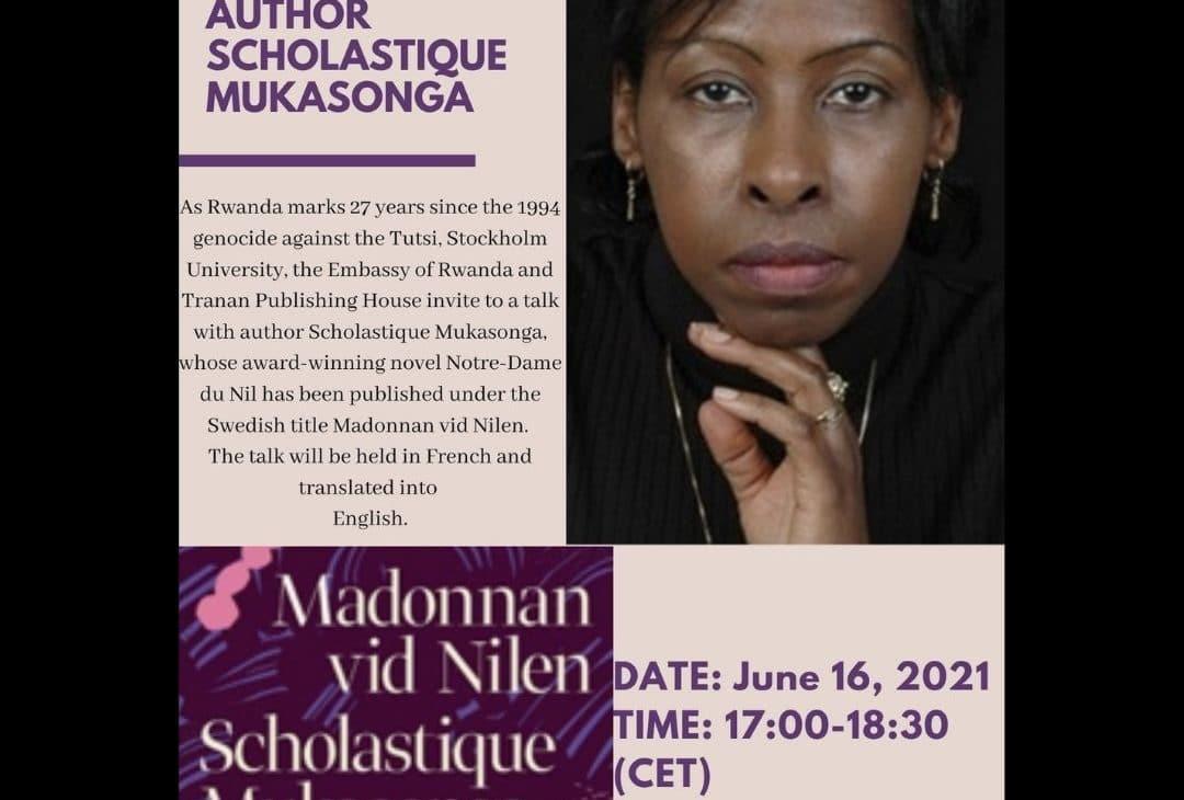 Conversation avec l'Université de Stockholm et Scholastique Mukasonga
