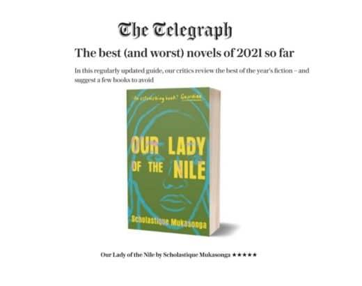 """The Telegraph : """"Our Lady of the Nil"""" dans les meilleurs romans de 2021"""