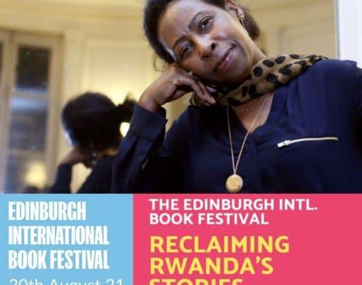 Edinburgh International Book Festival pour un entretien online avec Scholastique Mukasonga et Ellah Wakatama, Editor-at-Large à Canongate Books, pour parler de mon roman Our Lady of the Nile sortie cette année par Daunt Books