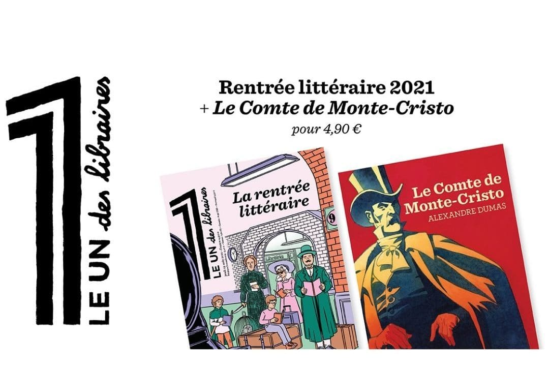 Le 1 des libraires spécial rentrée littéraire 2021