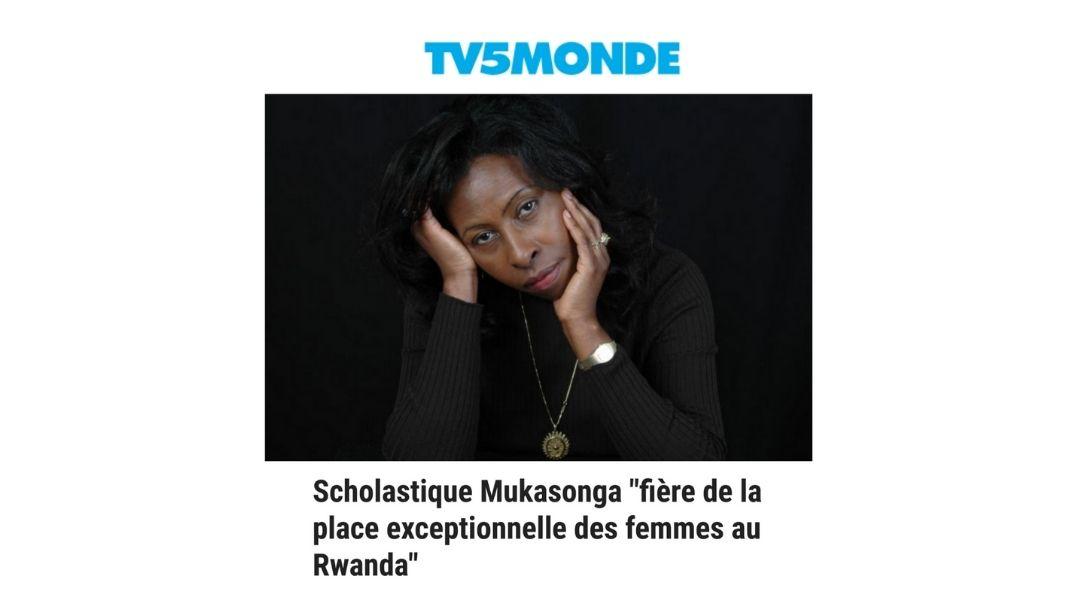 «fière de la place exceptionnelle des femmes au Rwanda»